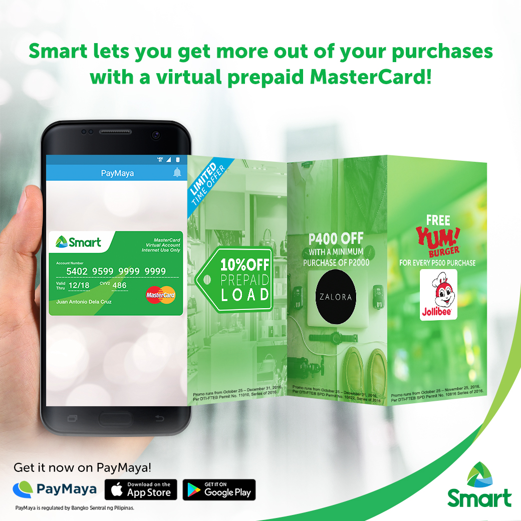 Subscribers enjoy exclusive load, shopping perks with Smart MasterCard