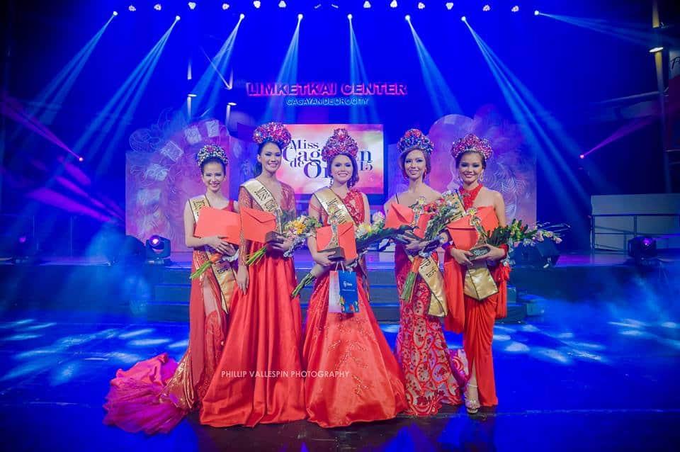 Miss Cagayan de Oro 2015 Winners