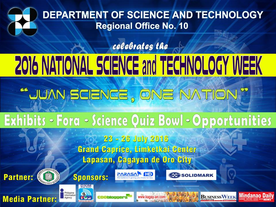 DOST 10 National Science and Technology Week 2016